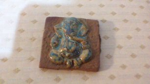 Ganesh on a tile